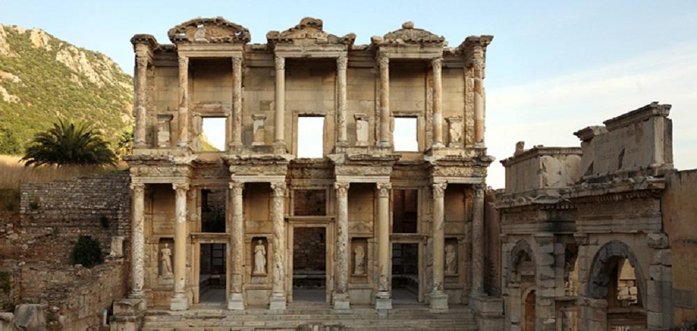 Ephesus, die Celsus Bilbliothek