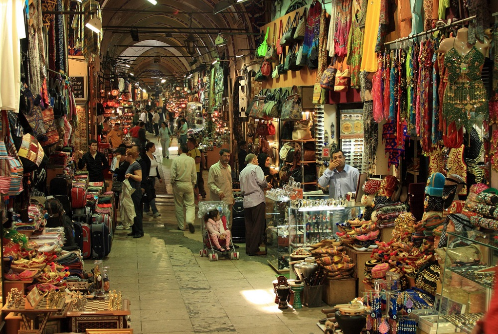 Im Großen Bazar