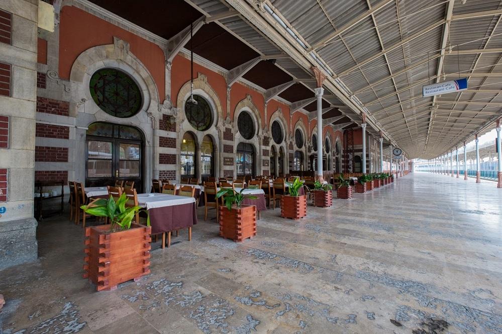 Maramaray Sirkeci Istasyonu, die ehemalige Endstelle des legändären Orient Express