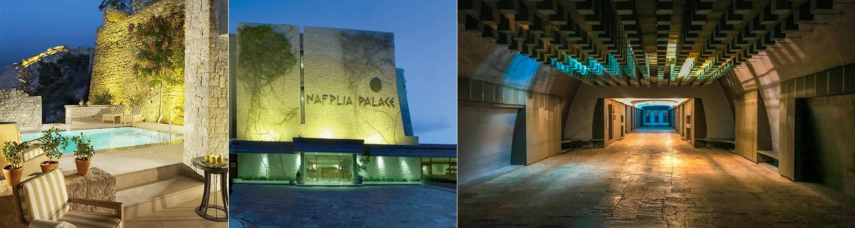 Nafplia Palace und seine James Bond - Dr. No Erscheinung